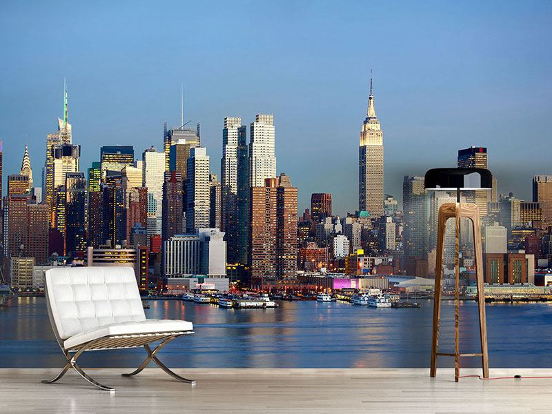 Wandbespannung Skyline Midtown Manhattan